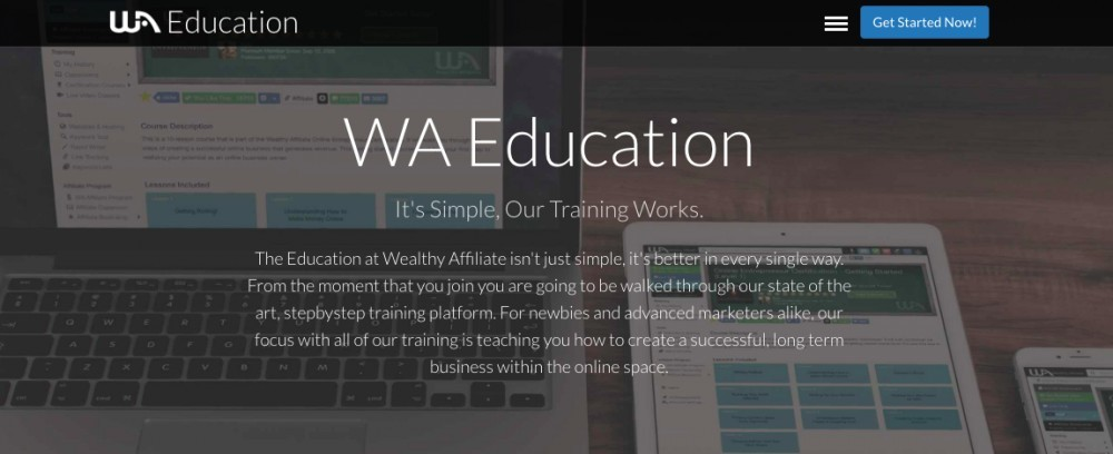 Wealthy Affiliate - Education
