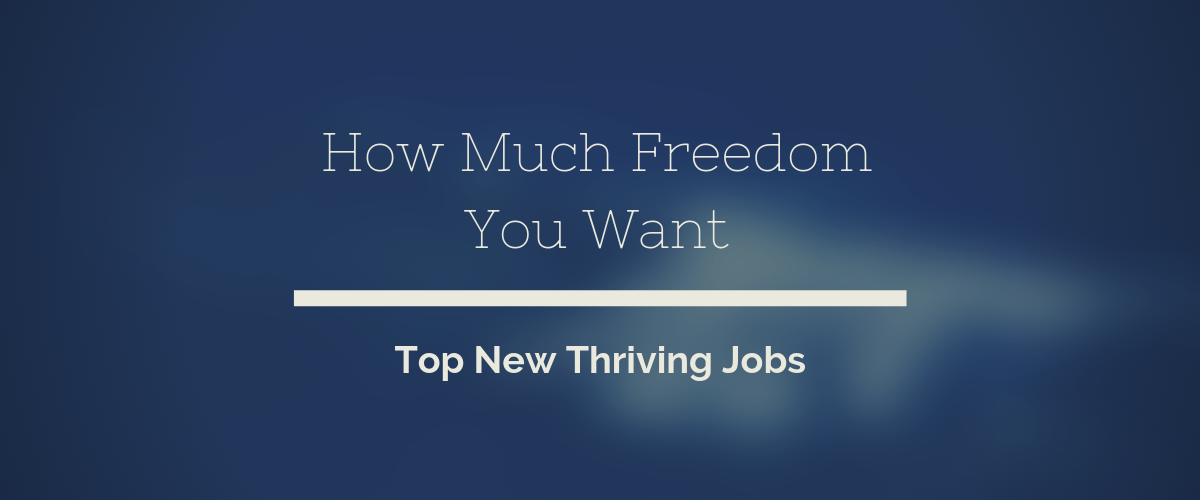 Top New Thriving Jobs