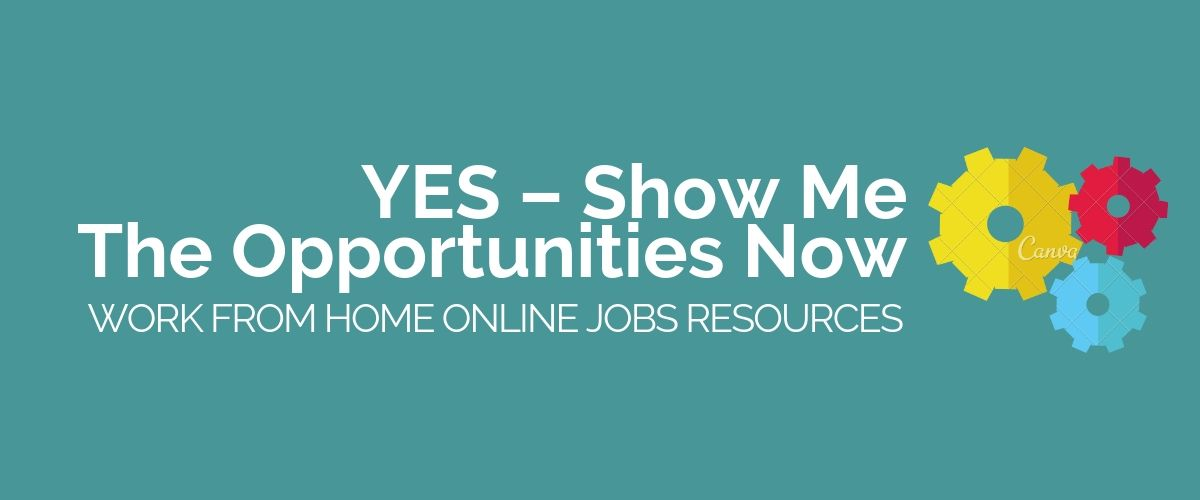 Yes-Show Me The Opportunities Now