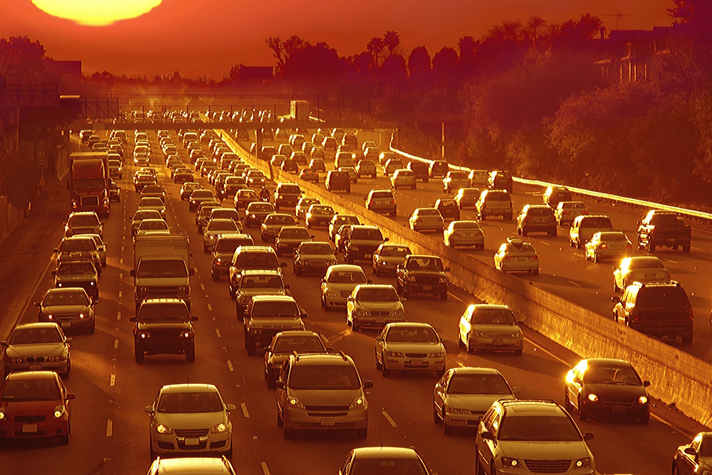 Location Limtation Traffic Jam-Night Time