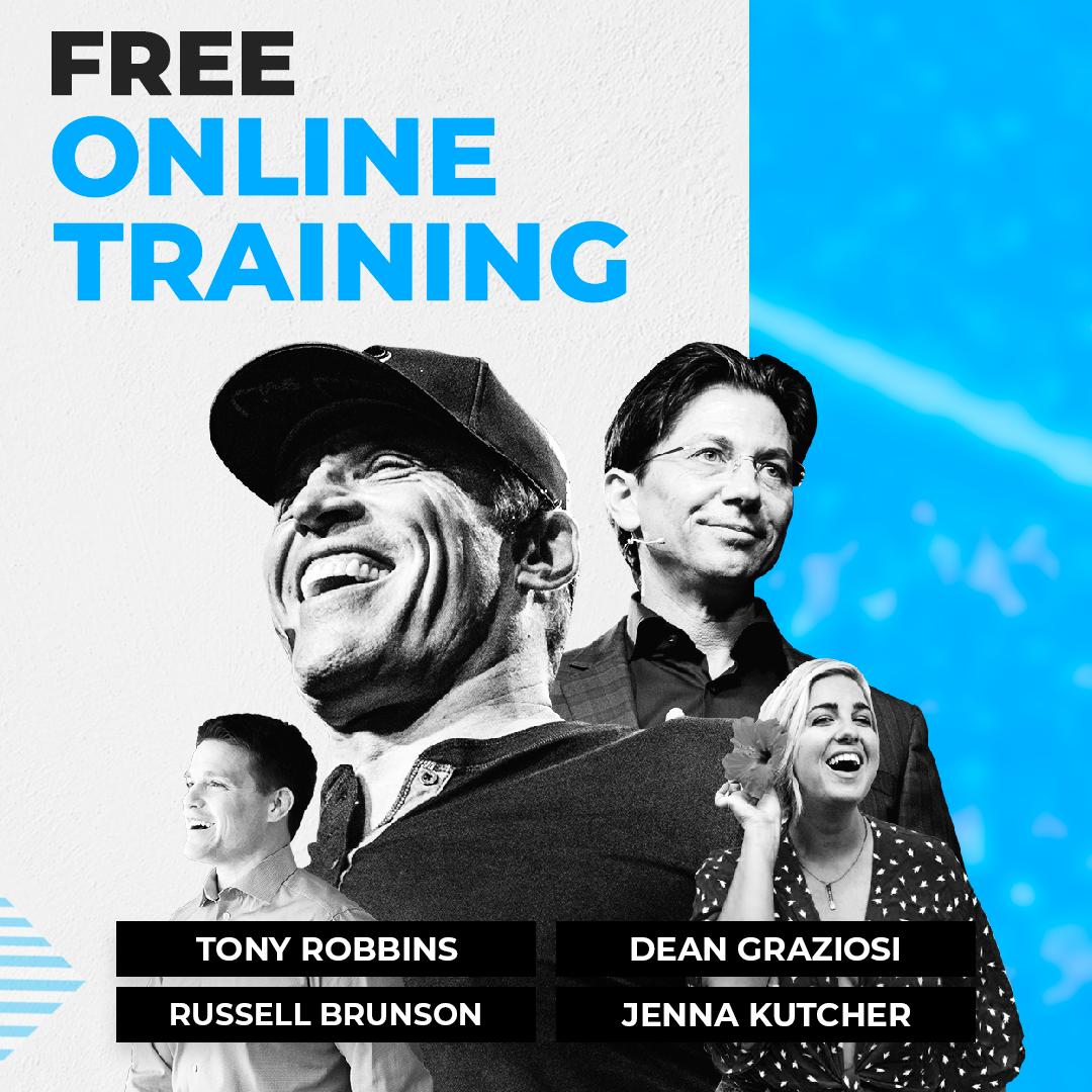 Tony Robbins & Dean Graziosi Knowledge Broker Bluepriint Course KBB Free Training