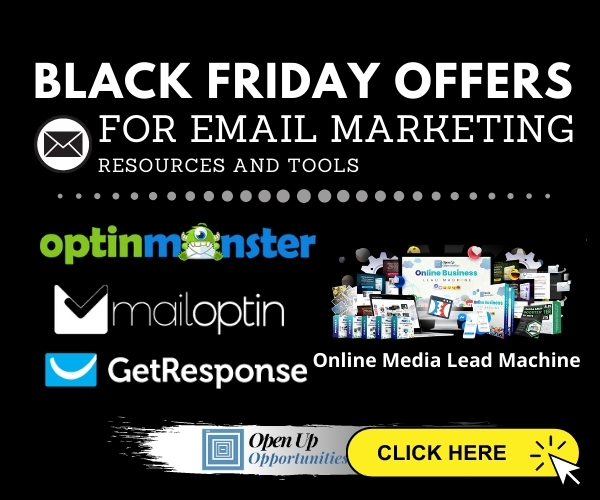 Black Friday For Email Marketing 600x500
