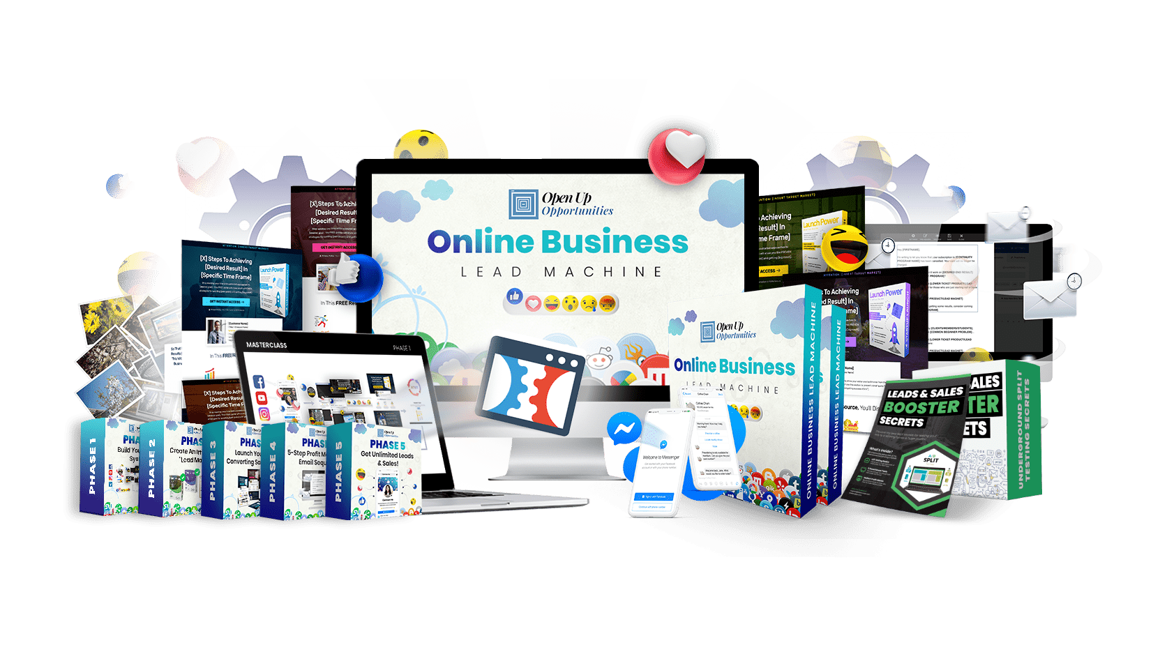 Online Business Lead Machine - openup-opportunities.com