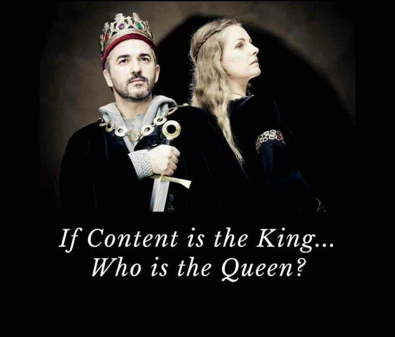 Read more about the article Content is King – But if Content is King, then how it's presented is it's Queen.