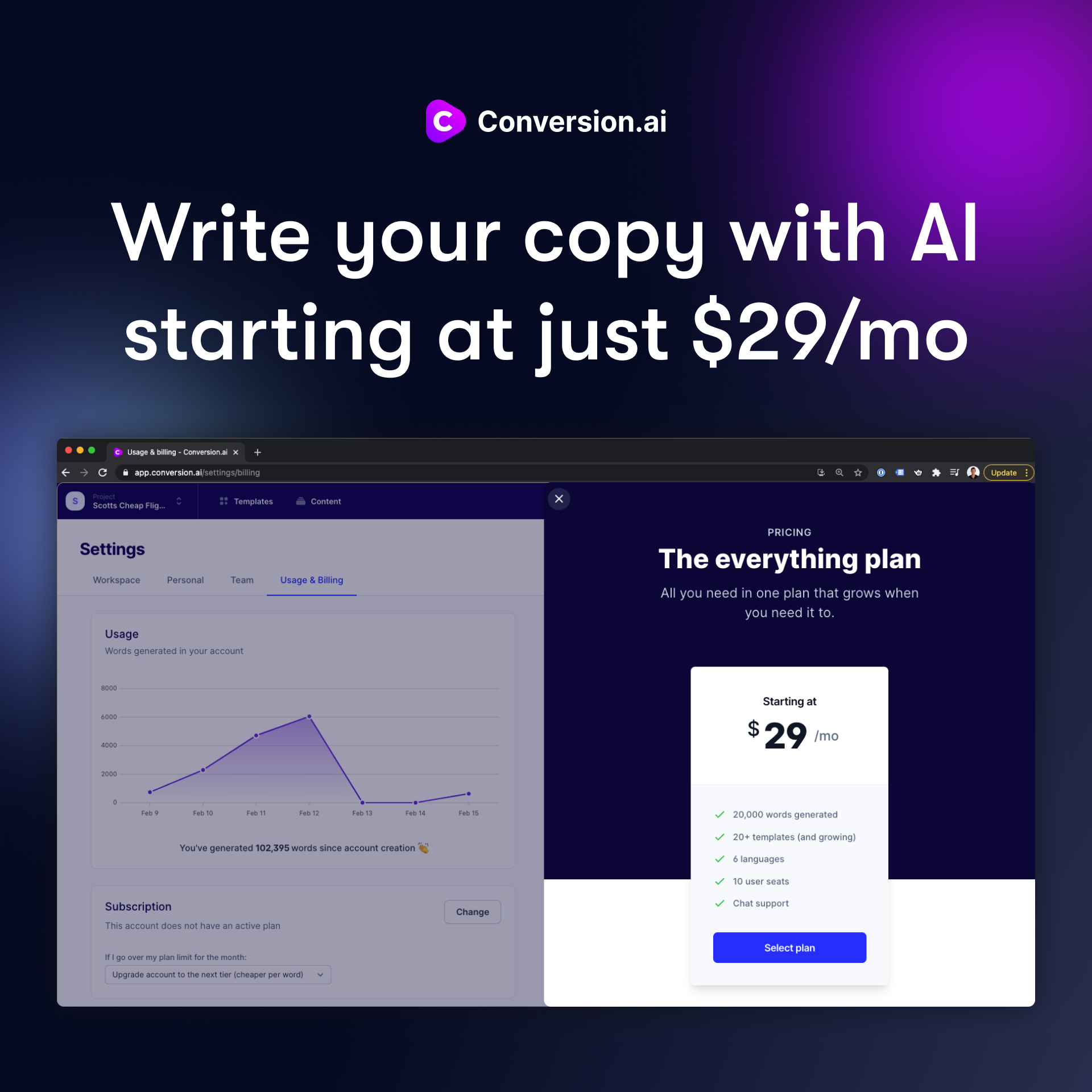 Conversion.ai Price openup-opportunities.com