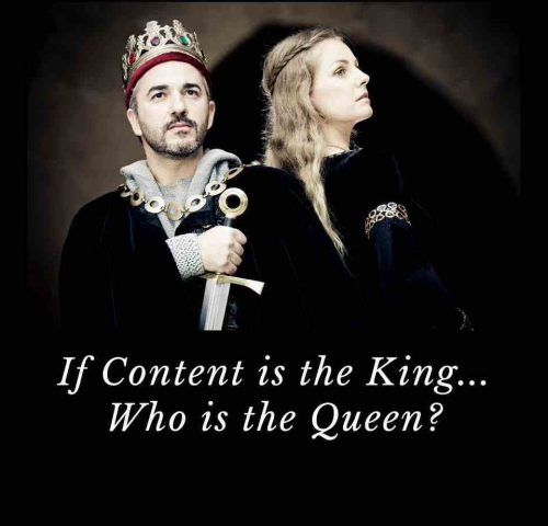 If content is the king, then who should be the queen? Content is the King, Presentation is the Queen.